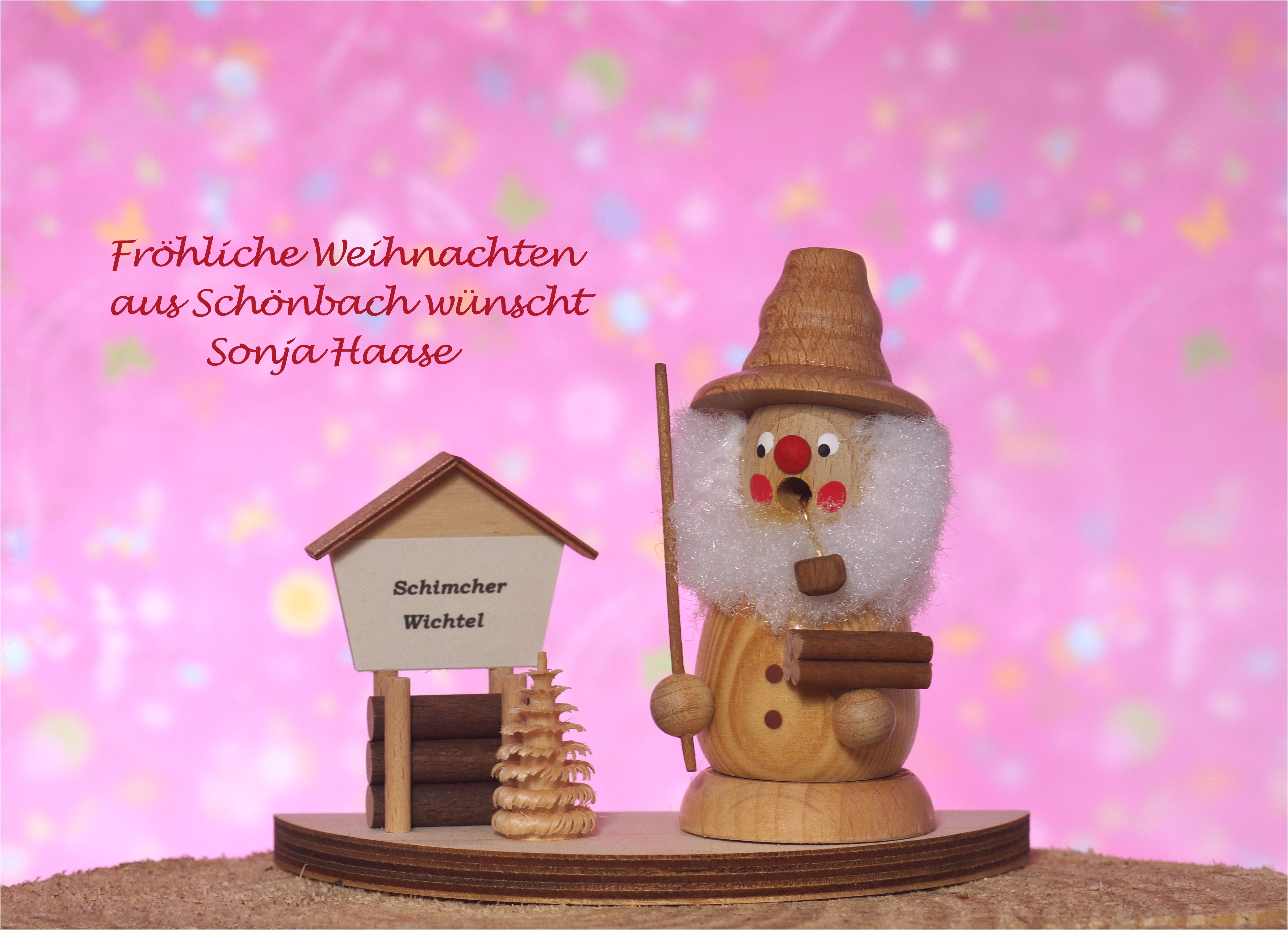Frohe Weihnachten aus Schönbach